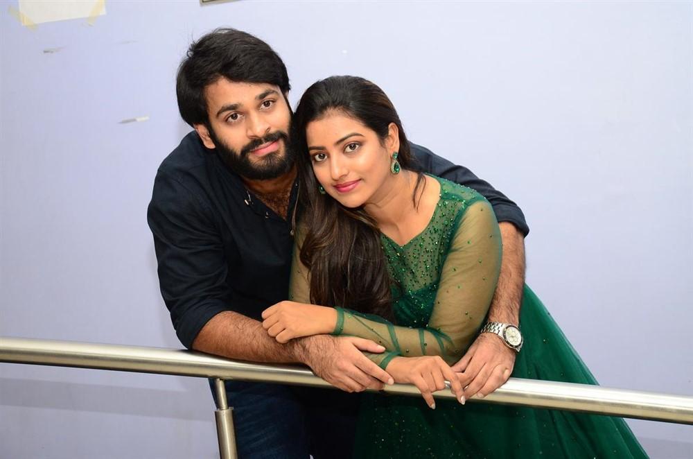 Sai Teja Kalvakota, Tarunika Singh @ Shivan Movie Teaser Launch Stills