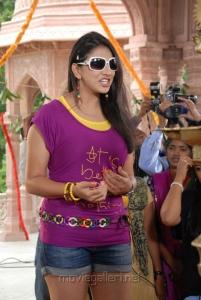 Actress Shivani Hot Stills at Bhaaja Bhajantreelu Press Meet