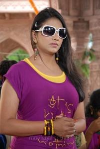 Telugu Actress Shivani Hot Stills at Baja Bhajantrilu Press Meet