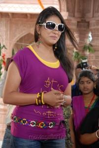 Actress Sivani Hot Stills at Bhaaja Bhajantreelu Press Meet