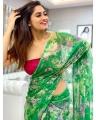 Actress Shivani Narayanan New Saree Photoshoot Pics