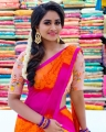 TV Actress Shivani Narayanan in Saree Photos