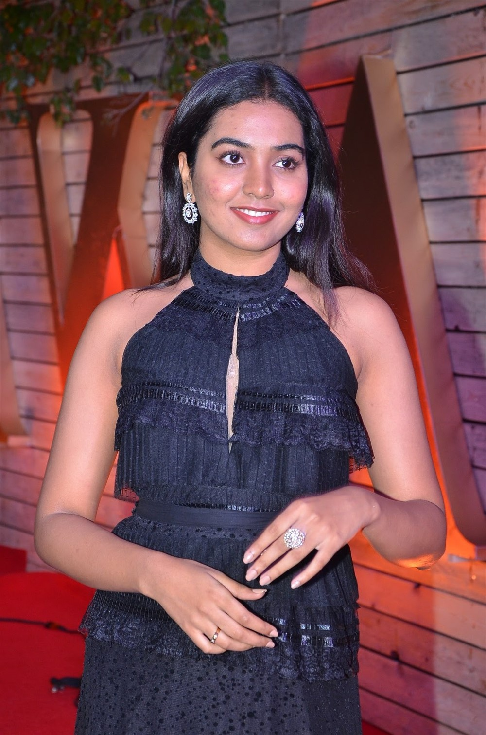 Actress Shivathmika Pictures @ Zee Cine Awards Telugu 2020 Red Carpet
