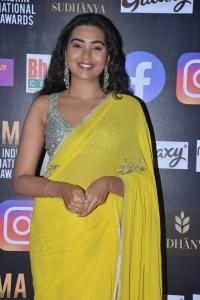 Actress Shivathmika Rajashekar Yellow Saree Photos