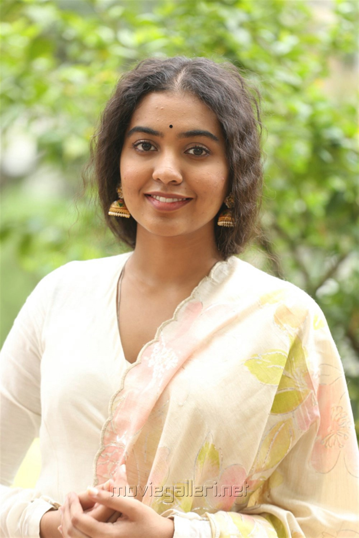 Actress Shivatmika Photos @ Dorasani Movie Trailer Launch