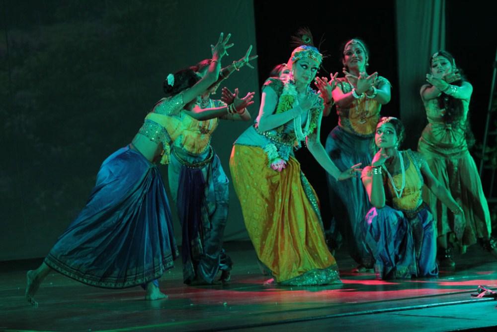 Krishna Dance Performance By Shobana