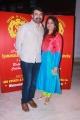 Rajiv Menon wife Latha Menon @ Shobi Lalitha Daughter Syamantakamani Ashvika 1st Birthday Photos