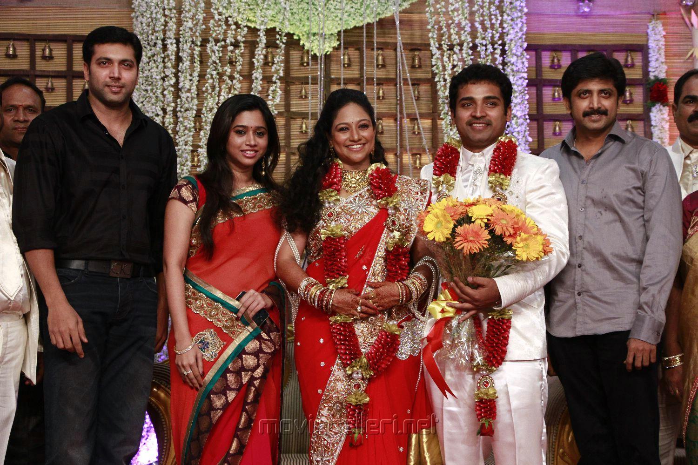 Picture 348553 Jayam Ravi Aarthi Mraja At Choreographers Shobi Lalitha