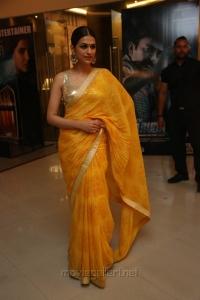 Actress Shraddha Das Photos @ PSV Garuda Vega Trailer Launch