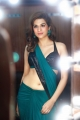 Actress Shraddha Das New Saree Photoshoot Stills