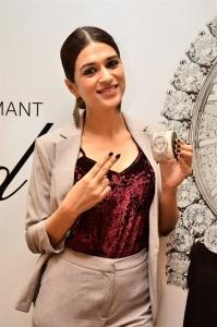 Actress Shraddha Das during Launch Of Chopard L'Heure Du Diamant 2.6 Crore Watch