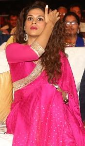 Actress Shraddha Das Pics @ Savitri Audio Release