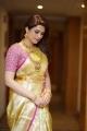 Telugu Actress Shraddha Das Silk Saree Photoshoot Pics