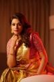 Actress Shraddha Das Silk Saree Photoshoot Pics