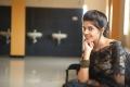Telugu Actress Sravya Black Saree Photos
