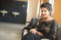 Beautiful Telugu Actress Shravya Photos in Black Saree