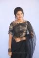 Telugu Actress Shravya in Black Saree Photos