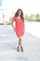 Actress Shravya Reddy Latest Photos in Red Dress