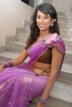Telugu Actress Shravya Reddy Hot in Saree Stills