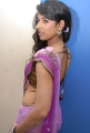Shravya Reddy Hot Photos in Saree