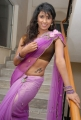 Telugu Actress Shravya Reddy in Saree Hot Pics