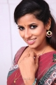 Actress Sravya Reddy Hot Saree Photos in NRI Telugu Movie