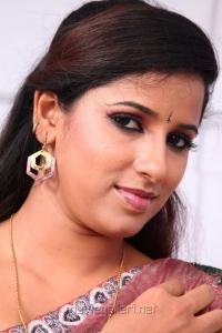 Actress Shravya Reddy Saree Photos in NRI Telugu Movie