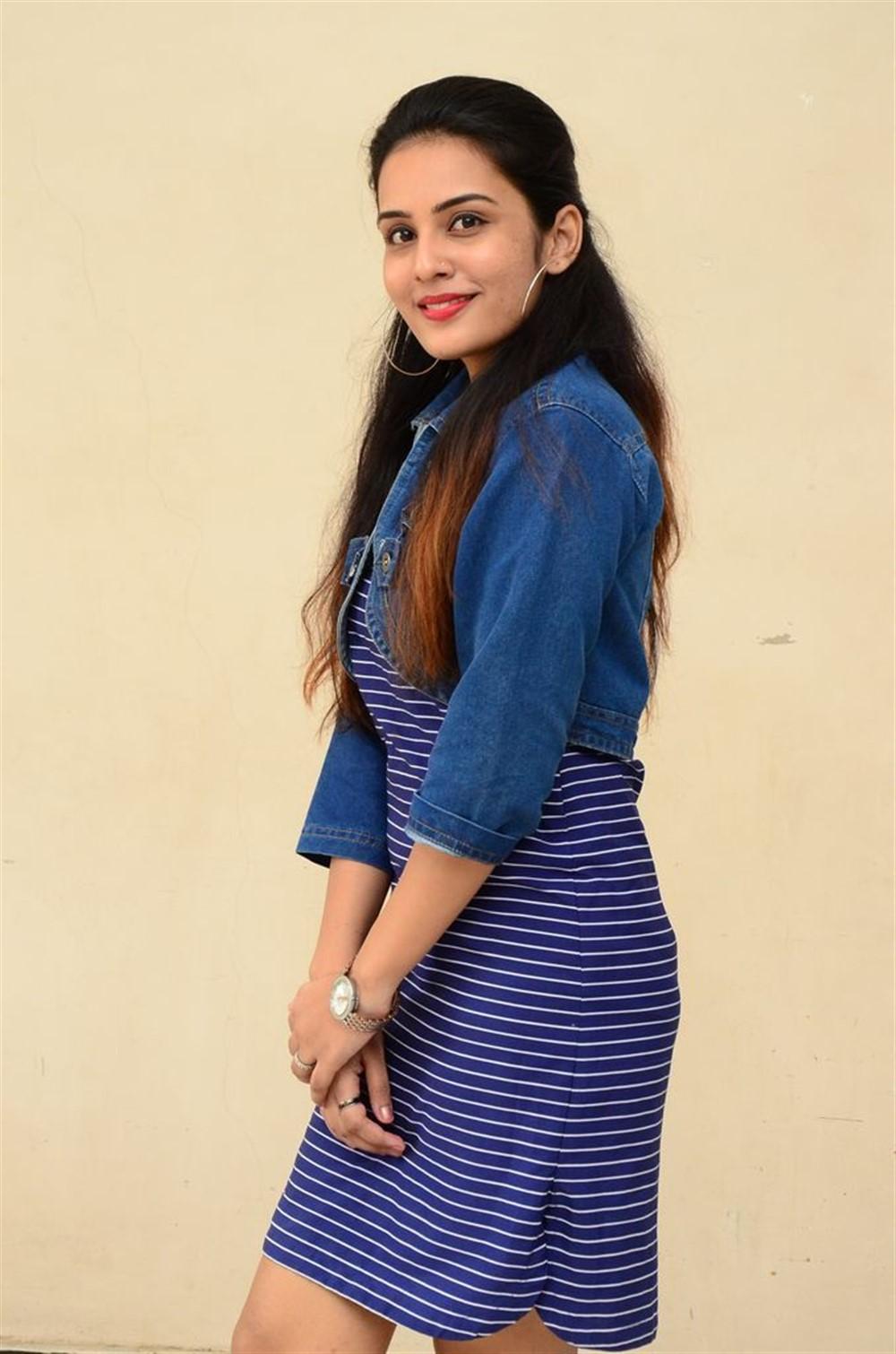Actress Shree Gopika Photos @ 90ml Movie Audio Launch