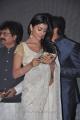 Actress Shriya Saran in Saree Photos at Chandra Audio Release