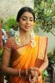 Cute Shriya Saree Photos at Pavithra Movie Launch