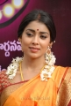 Actress Shriya Saree Photos at Pavithra Telugu Movie Launch