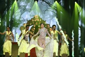 Actress Shriya Saran Dance Pics @ SIIMA 2018 Awards Function