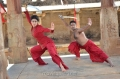 Shriya Saran Performing Kalari Photos in Chandra