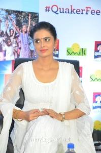 Actress Meenakshi Dixit joins Quaker Feed A Child Campaign Stills