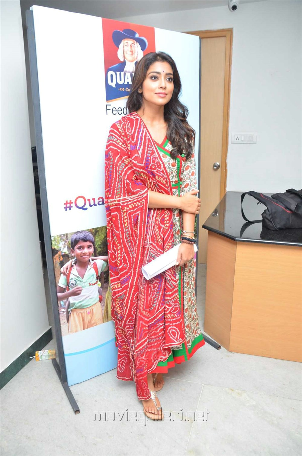 Actress Shriya Saran joins Quaker Feed A Child Campaign Stills