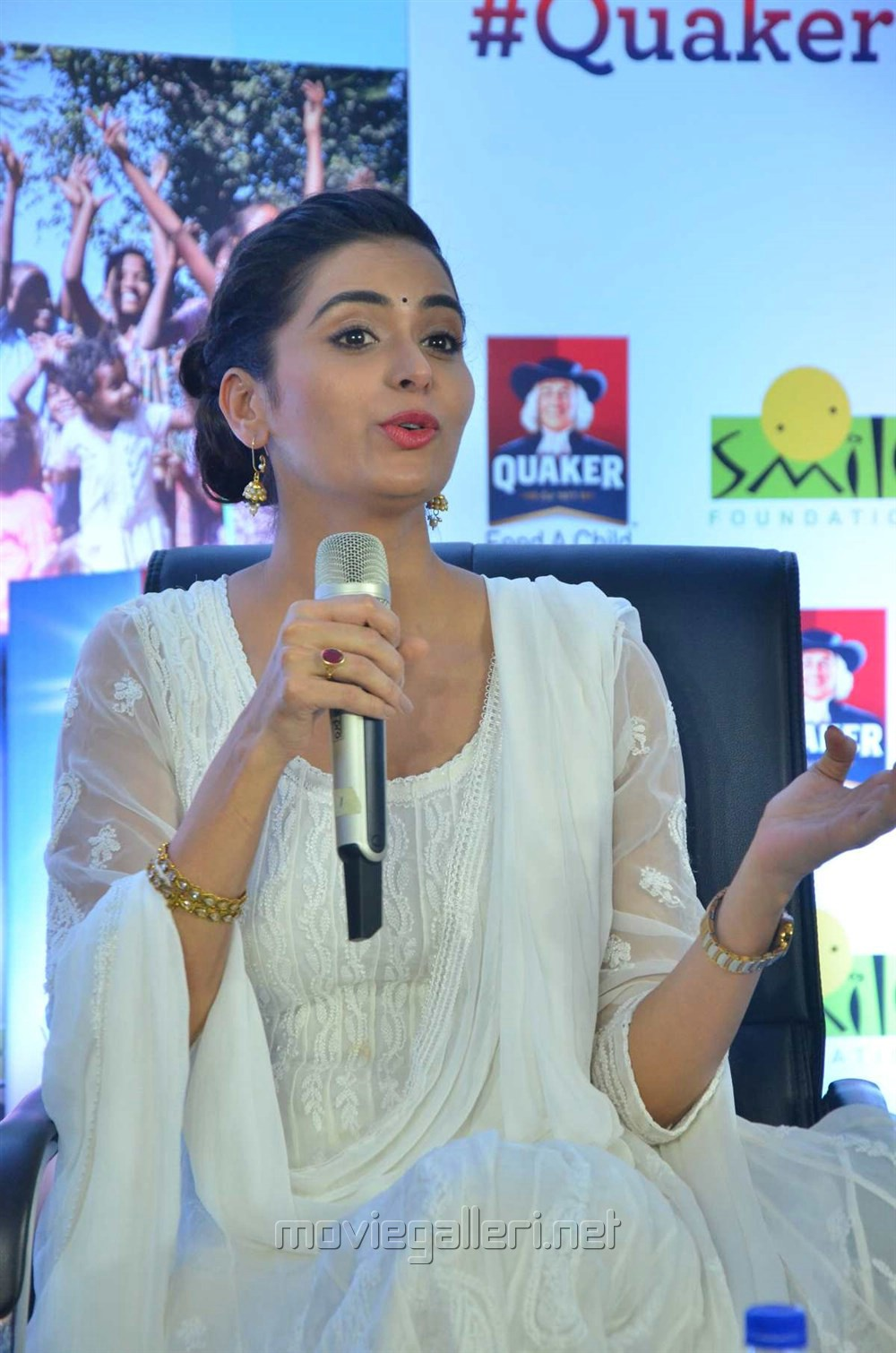 Actress Meenakshi Dixit joins Quaker Feed A Child Campaign Stills