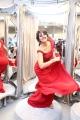 Actress Shriya Saran New Stills @ Gaurav Gupta Fashion Store Launch