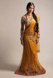 Shriya Saran Hot & Cute in Traditonal Saree Pics