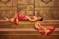Actress Shriya Saran Traditional Photoshoot for CMR Textiles