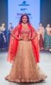 Actress Shriya Saran Ramp Walk Images at Bombay Times Fashion Week (BTFW) 2018 Day 2