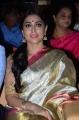Actress Shriya Saran Silk Saree Photos @ Gautamiputra Satakarni Audio Release