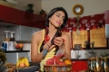 Actress Shriya Saran Hot New Pictures in Kitchen Room