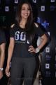 Actress Shruti Hassan Black T Shirt & Thermal Pant Photos