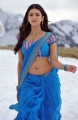 Shruthi Hassan Hot Pics in Blue Saree
