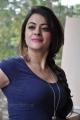 Actress Shruthi Sodhi Hot Images in Dark Blue Dress
