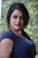 Actress Shruthi Sodhi Images in Dark Blue Dress