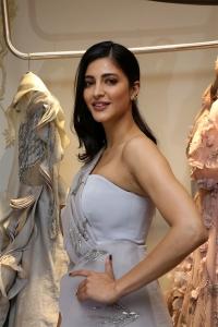 Actress Shruti Hassan Pics @ Gaurav Gupta Fashion Store Launch