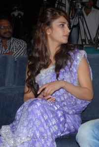 Shruti Haasan in saree Photos at Balupu Logo launch