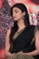 Actress Shruti Hassan Black Saree Photos @ Poojai Press Meet