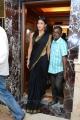 Tamil Actress Shruti Hassan Black Saree Photos
